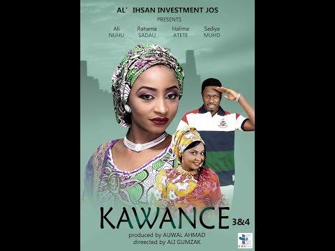 KAWANCE latest hausa film 3&4