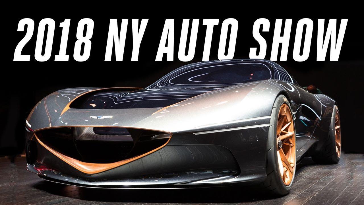 2018 New York Auto Show: top 9 cars thumbnail