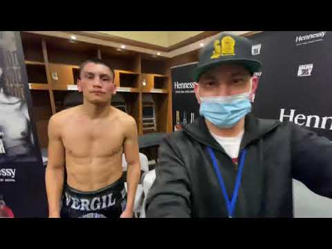 Vergil ortiz reveals what hooker told him right after the fight