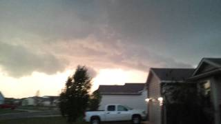 Tornado forming in front of our house Andover June 9th 2011