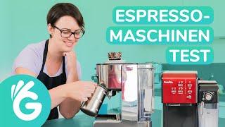 Espressomaschinen Test – Siebträgermaschinen für Anfänger