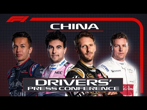 2019 Chinese Grand Prix: Pre-Race Press Conference Highlights