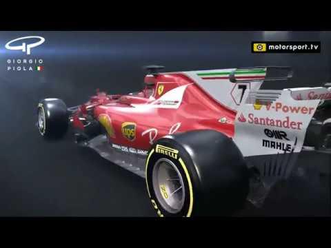Ferrari's high-downforce changes so far in 2017
