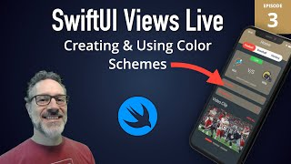 SwiftUI Views Live: 3 - Color Schemes in SwiftUI