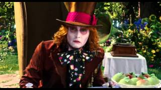 Джонни Депп, Алиса в Зазеркалье / Alice Through the Looking Glass (2016) ТВ трейлер HD