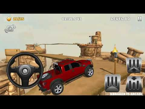 Mountain Climb 4x4: Impossible Stunts New Vehicle Unlocked # Levels 79 To 82 - Android GamePlay HD