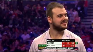 PDC World Darts Championship 2015   First Round   Painter vs Koltsov