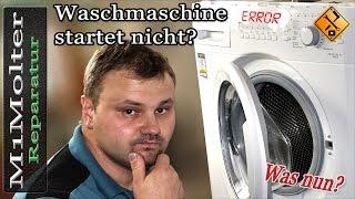 Waschmaschine Startet Nicht   Was Tun? Tipps Von M1Molter.