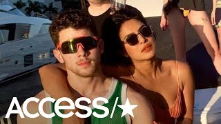 Priyanka Chopra, Sophie Turner & The Jonas Brothers Dance To 'Sucker' Atop A Yacht In Miami | Access