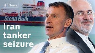 Iran on 'dangerous path' after British-flagged tanker seizure