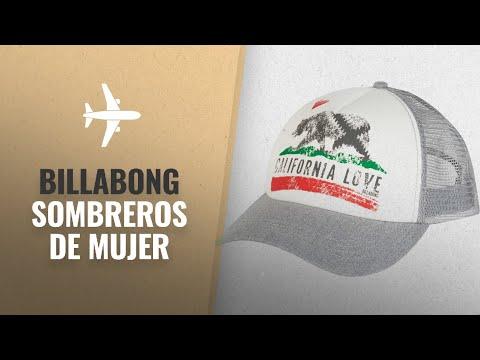 10 Mejores Billabong Sombreros De Mujer 2018  Billabong Pitstop Trucker Hat a197caa30ac