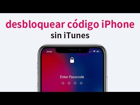 desbloquearlo sin iTunes