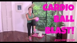 Aerobics, Cardio, Exercise, Full Length 30-Minute Workout Video: Cardio Ball Blast by jessicasmithtv