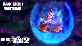 Jiren's Meditating Skill for Cac - Dragon Ball Xenoverse 2 Mods