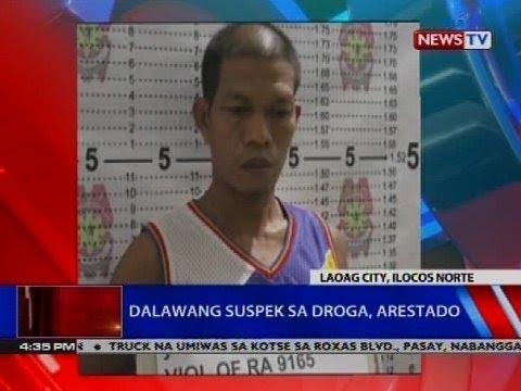 Dalawang suspek sa droga, arestado