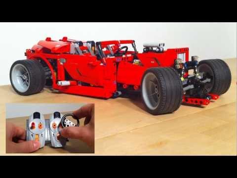 Vidéo LEGO Technic 8070 : Super Car