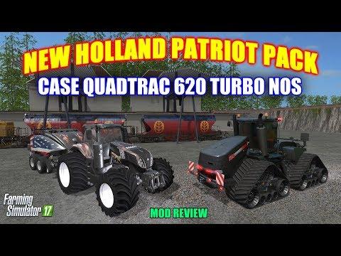 Patriot New Holland T8 BB1290 Baler Pack v1 0 - Modhub us