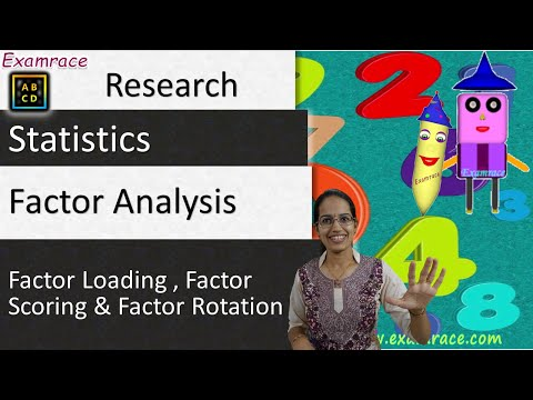 Factor Analysis - Factor Loading, Factor Scoring & Factor Rotation (Research & Statistics)