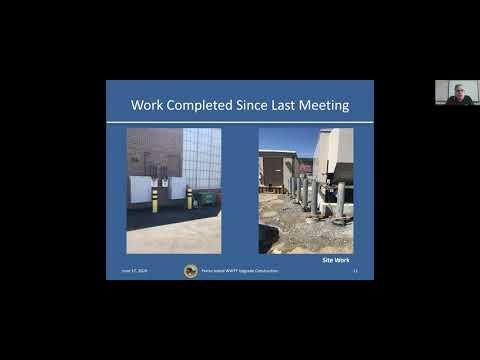 Peirce Island WWTF Public Construction  June 17, 2020