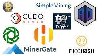 Crypto Mining Software-Liste