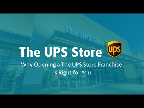 , title : 'Why Opening a The UPS Store Franchise is Right for You'