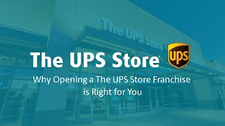 Why Opening a The UPS Store Franchise is Right for You