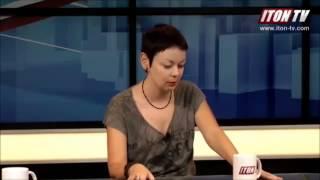 Израильская журналистка не нашла в Донецке ни одного за Украину
