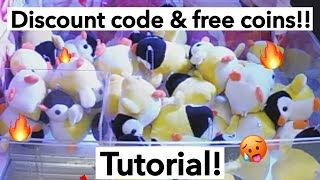 How to get free coins! And free discount codes! on Clawee app!