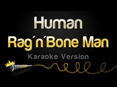 Rag'n'Bone Man - Human (Karaoke Version)