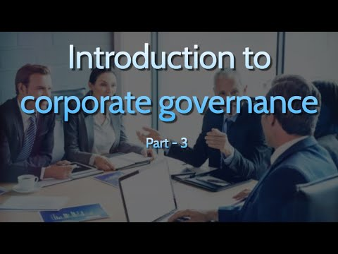 Corporate Governance Certification & Interview with ... - YouTube