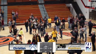 Culver Volleyball Regional Championship: Pioneer vs Morgan Tshp/Bethany