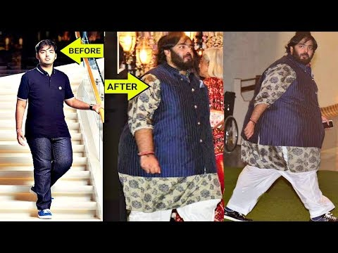 Anant Ambani Shocking Weight Gain - Fit to Fat