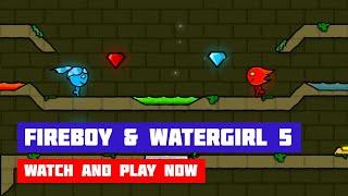 Fireboy & Watergirl 5: Elements // Walkthrough 100%