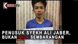 Penikam Syekh Ali Jaber, Bukan Gila Sembarangan