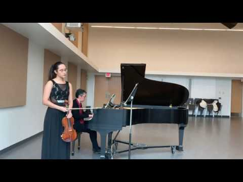 Cesar Franck Violin and Piano sonata in A Major, 1st Movement