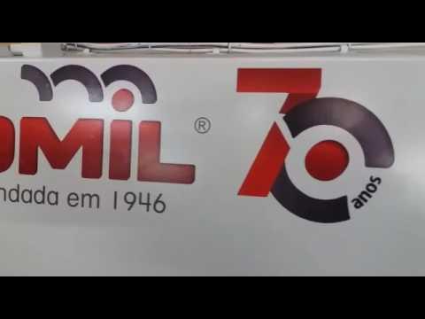 Serra Múltipla Omil SMO-350 + Alimentador Automático Omil AAO-240