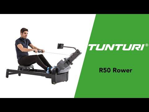 Promovideo: Veslařský trenažér TUNTURI R50 Rower Performance
