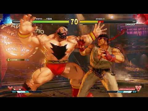 Street Fighter V Arcade Análise 2