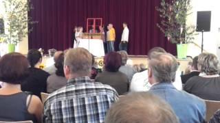 preview picture of video 'Schuleinführung Grundschule Großschönau'
