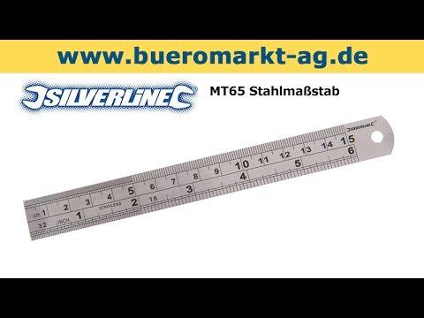 Silverline MT65 Stahlmaßstab