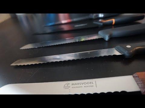 Brotmesser Test