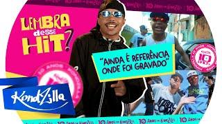 "MC CRASH REAGE A ""SARRADA NO AR"" (KondZilla)"