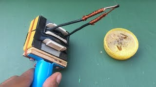 How to make electric soldering gun from old transformer