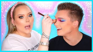 Doing My FIANCE'S Makeup! | NikkieTutorials
