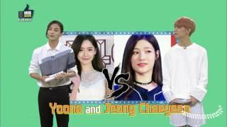 Girlgroup Make Up Worldcup Seventeen's Jeonghan Chooses Somi's Makeup