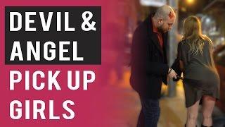 Devil & Angel Pick Up Girls (Halloween Infield Footage)