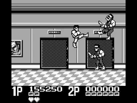 Double Dragon II : The Revenge Game Boy