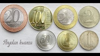 Angolan kwanza coins collection | Angola - Central Africa