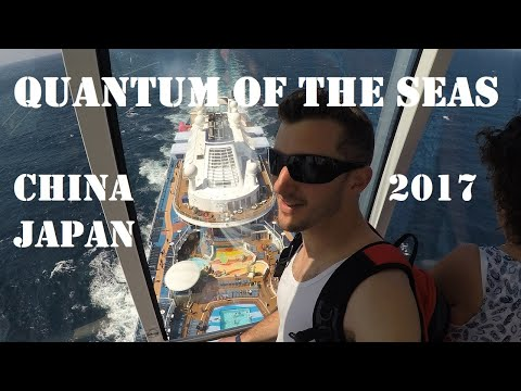Cruise on Quantum of the Seas – Royal Caribbean – China & Japan