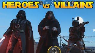 Star Wars Battlefront:  HEROES VS VILLAINS GAMEPLAY